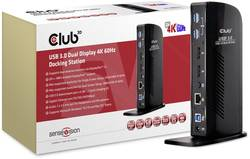 club3D Laptop docking station (refurbished) Compatible with