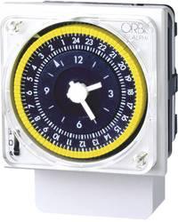 Timer til DINskinne Driftsspænding (num): 230 V/AC ORBIS Zeitschalttechnik ALPHA D 1 x skiftekontakt 16 A 250 V/AC Dagsprogram