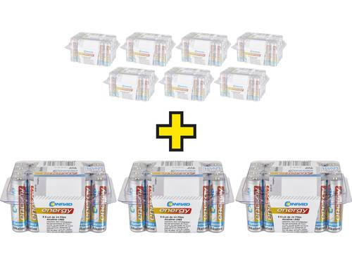 AAA batterij (potlood) Conrad energy Alkaline 1.5 V 1 stuks