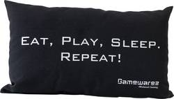 GAMEWAREZ EAT, PLAY, SLEEP. REPEAT! Svart