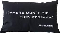 GAMEWAREZ GAMERS DON'T DIE, THEY RESPAWN! Svart
