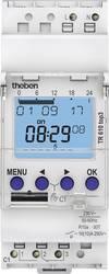 Timer til DINskinne Driftsspænding (num): 230 V/AC Theben TR610 top3 1 x skiftekontakt 16 A 250 V/AC Ugeprogram