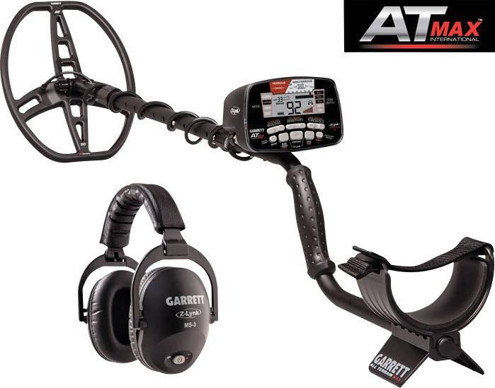 Garrett AT MAX International Metal detector Digital, Acoustic ...