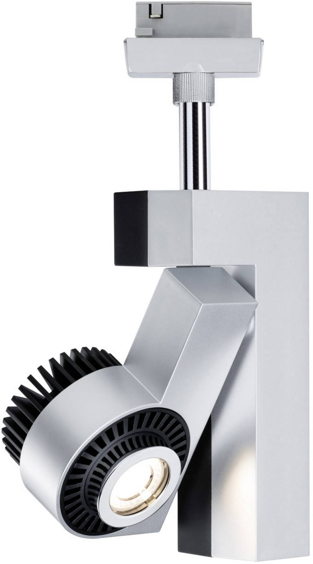 Högvolt-skensystem LED fast installerad 10 W LED Paulmann Link Krom (matt), Svart (matt)