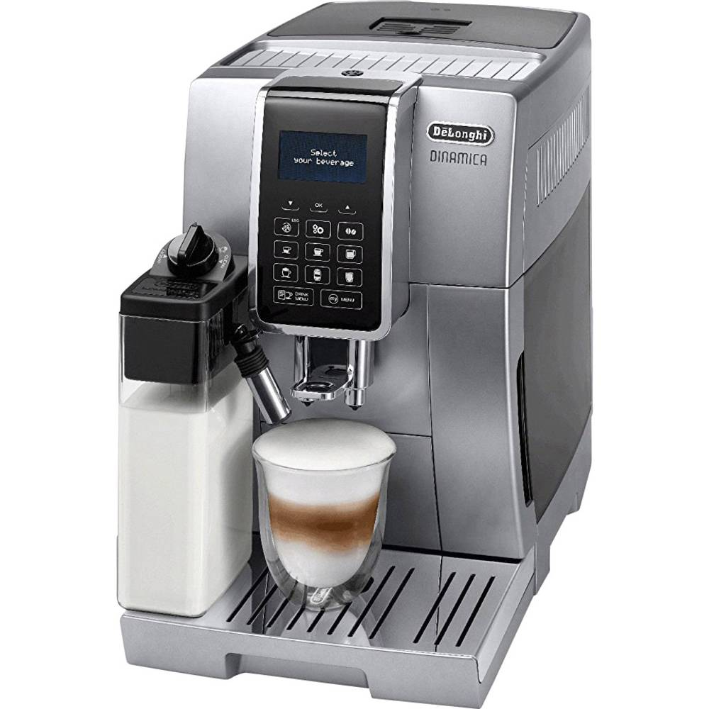 DeLonghi ECAM 350.75.S 0132215298 Fully automated coffee machine Silver