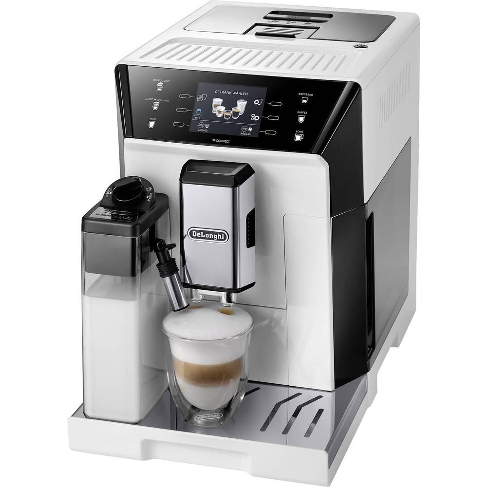 DeLonghi ECAM 556.55.W - PrimaDonna 0132217038 Fully automated coffee machine White