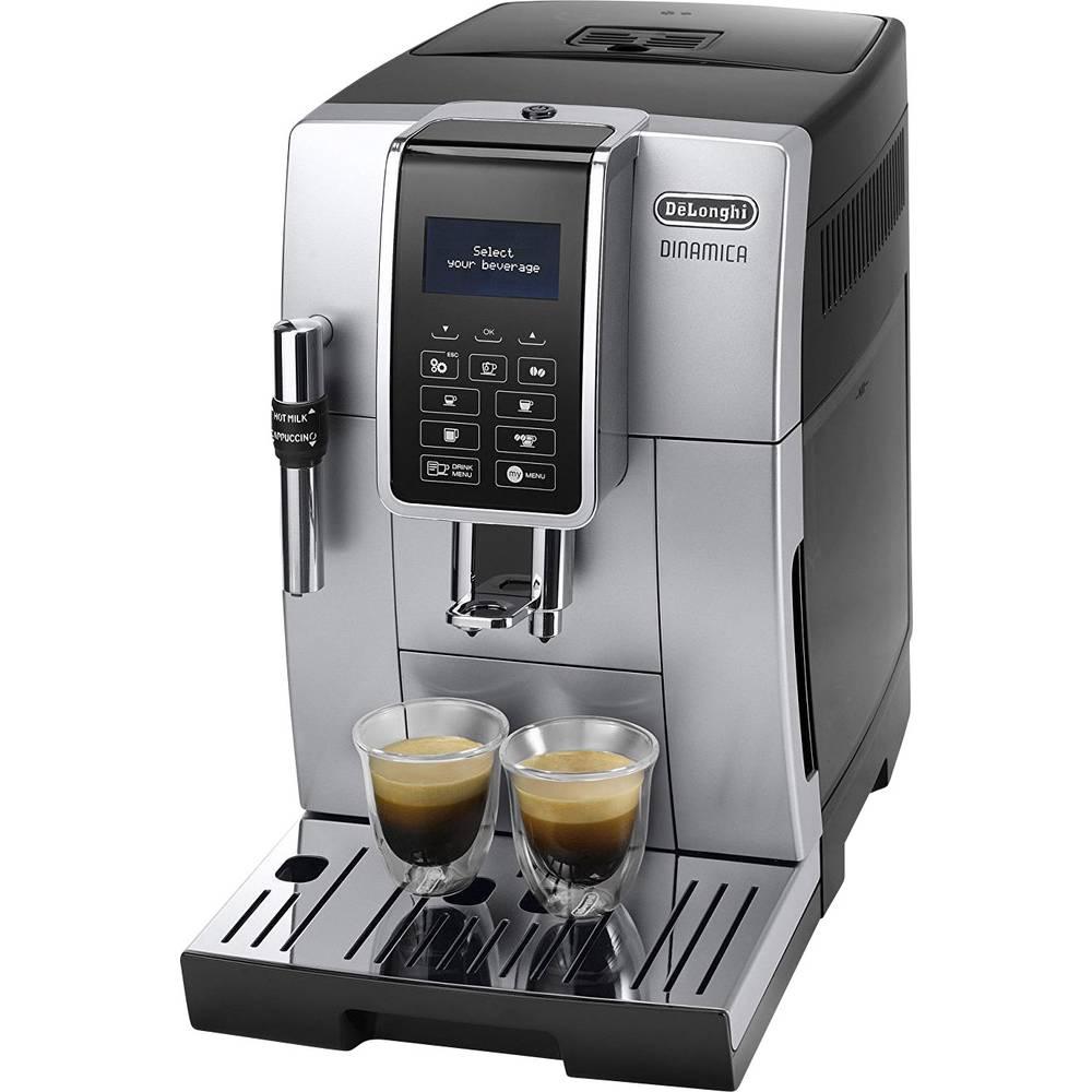 DeLonghi ECAM 350.35.SB - Dinamica 0132220019 Fully automated coffee machine Black, Silver
