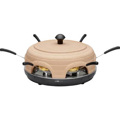 Clatronic PO 3682 Pizza oven Terracotta, Black