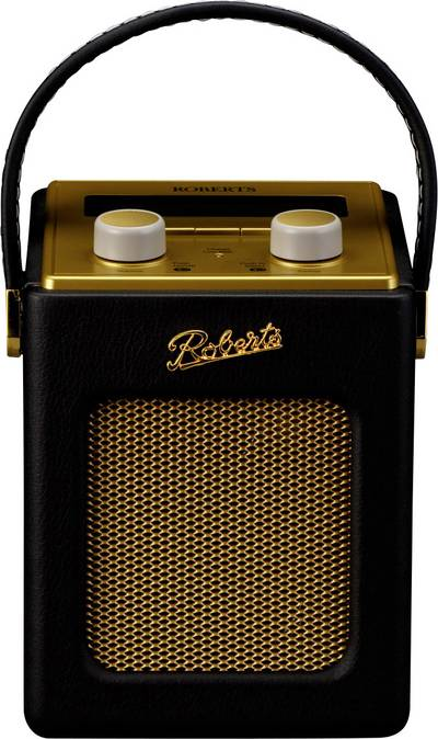 Image of DAB+ Table top radio Roberts Revival Mini AUX Black