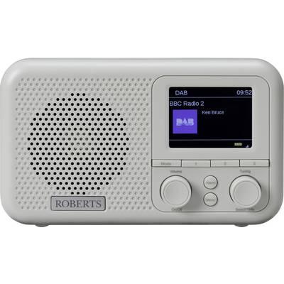 Roberts Play M4 Grey FM Radio alarm clock AUX Grey