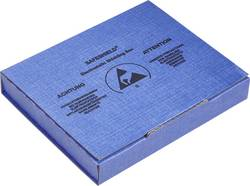 ESD embalaža (D x Š x V) 100 x 120 x 15 mm prevodna Wolfgang Warmbier 5510.909