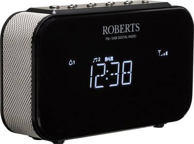 Roberts Ortus 1 FM Radio alarm clock AUX Black