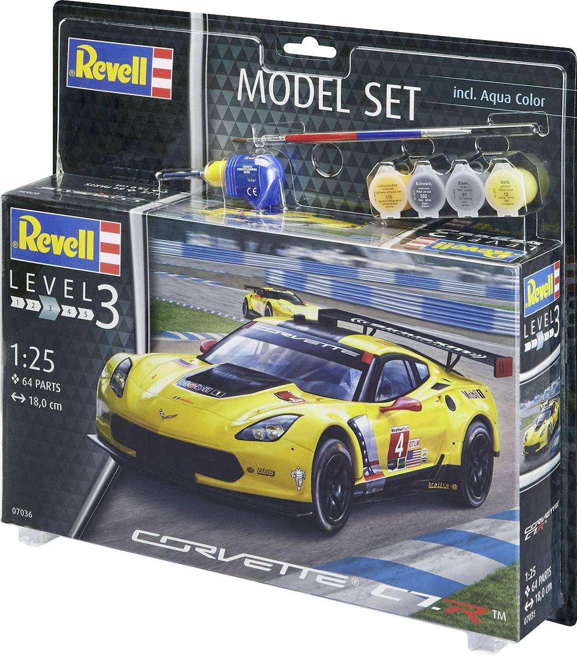 Corvette C7.R Kit REVELL 1:25 RV07036