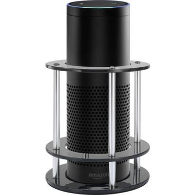 Speaker stand For Amazon Echo, For Amazon Echo Plus Renkforce RF-LSAE-100 Black 1 pc(s)