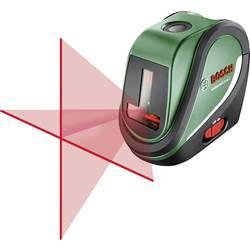 Krydslinjelaser Selvnivellerende Bosch UniversalLevel 2 Basic Rækkevidde (max.): 10 m Kalibrering efter: Fabriksstandard