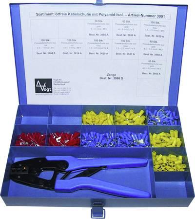 Ring terminal set 0.50 mm² 6 mm² Red, Blue, Yellow Vogt Verbindungstechnik 3991 1001 pc(s)