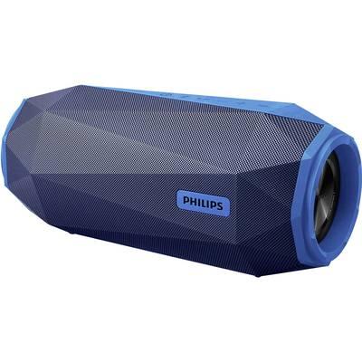 Philips SB500 Bluetooth speaker Aux, Handsfree, Outdoor, shock-proof, Water-proof Grey, Blue