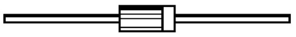 Schottky-dioda NXP SB530 = SQ030 kućište DO-201 I(F) 5 A SB540-E3/54 Vishay