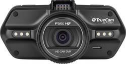 Dashcam med GPS TrueCam A5 PRO WIFI Betragtningsvinkel horisontal=110 ° 12 V, 24 V WLAN, Display, Batteri, Mikrofon