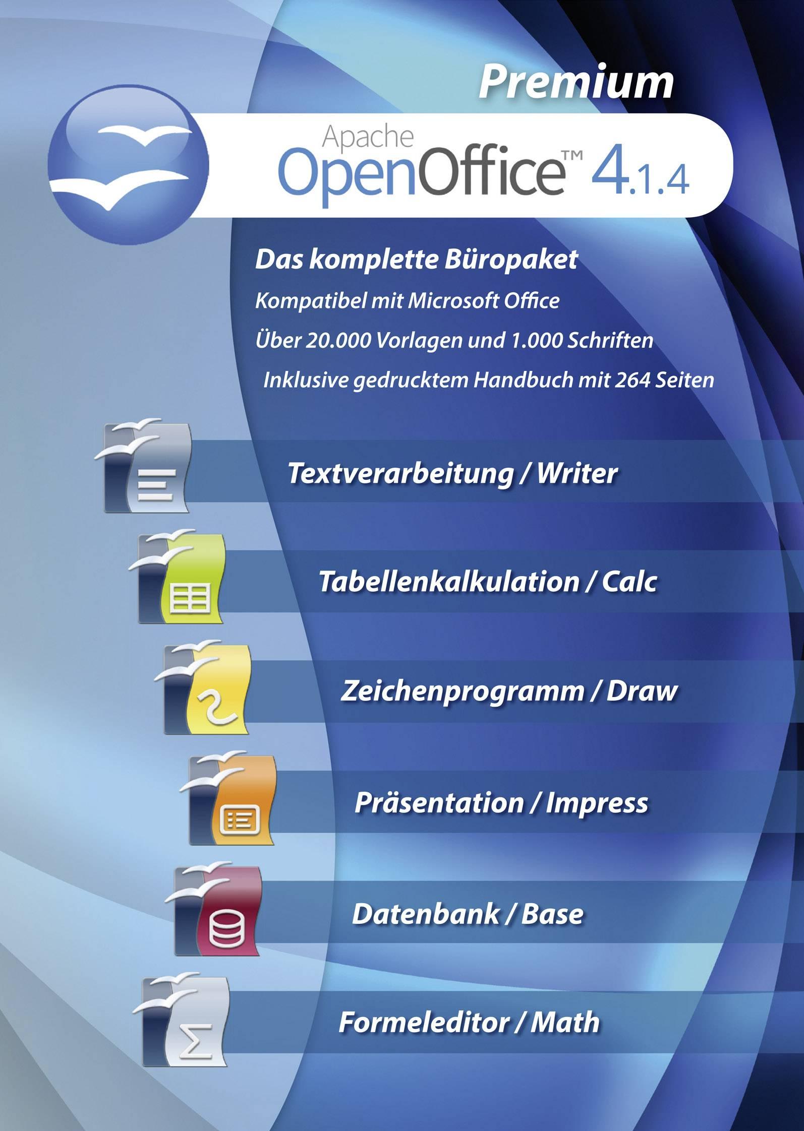 OpenOffice 4 1 4 Premium Full version, 1 license Windows
