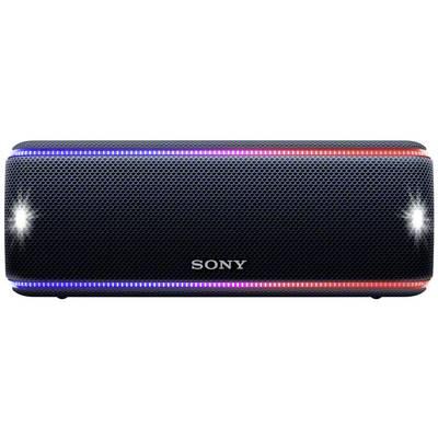 Sony SRS-XB31 Bluetooth speaker Aux, Handsfree, NFC, Dust-proof, Water-proof Black