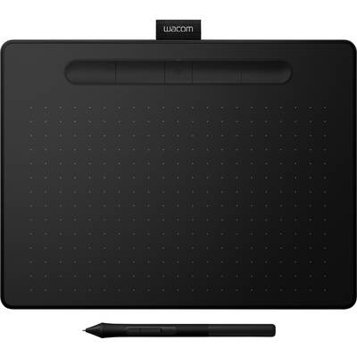 Wacom Intuos Comfort Plus PB M Pen tablet Black