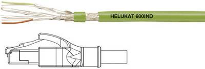 Helukabel RJ45 Networks Cable CAT 6A S/FTP 10 m Green PUR coating
