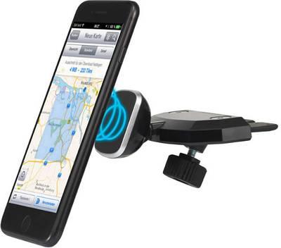 Image of Renkforce KFZ-CD1M CB slot Car mobile phone holder Magnetic fastener