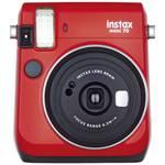 Fujifilm Instax Mini 70 Instant camera red-carry strap