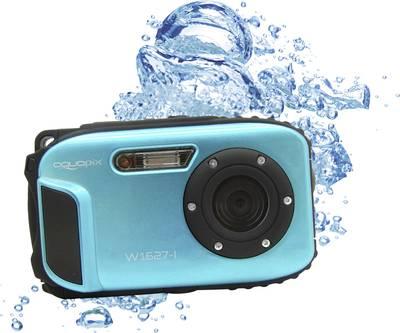 Image of Digital camera Easypix W1627 Iceblue 16 MPix Blue Underwater camera, Shockproof, Dustproof