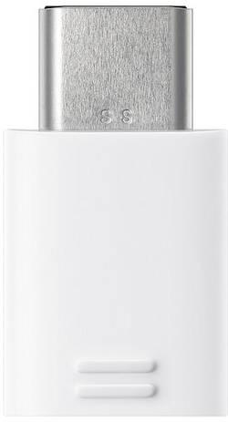 USB 2.0 Adapter Samsung [1x Micro-USB-Buchse - 1x USB-C stik] Hvid