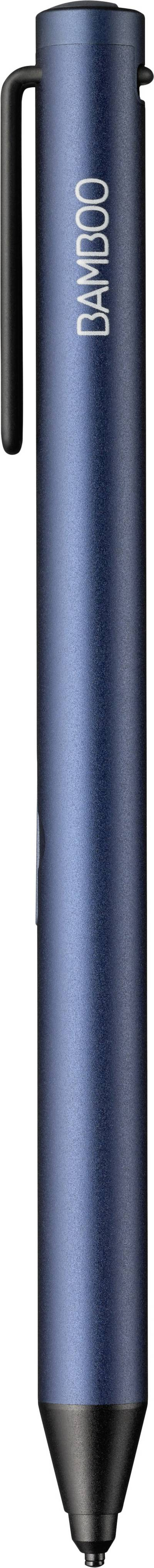 Image of Wacom Bamboo Tip Touchpen Replaceable carbon fibre tip, + precision tip, + pressure-sensitive tip, Rechargeable Blue