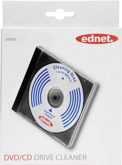 Image of CD laser cleaning disc ednet Clean! CD Drive Cleaner 63010 1 pc(