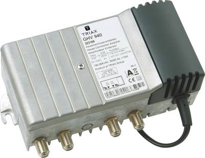 Triax GHV 940 Cable TV amplifier 8-way 40 dB