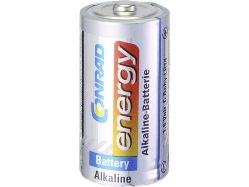 C batterij (baby) Conrad energy Alkaline 1.5 V 10 stuks