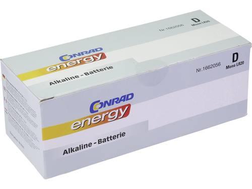 D batterij (mono) Conrad energy LR20 Alkaline 1.5 V 10 stuks