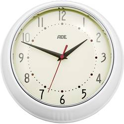 ADE CK 1601 Quartz Wall clock 65 mm x 240 mm x 240 mm Cream-white