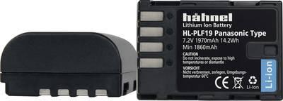 Image of Camera battery Haehnel replaces original battery DMW-BLF19, DMW-BLF19E, DMW-BLF19PP