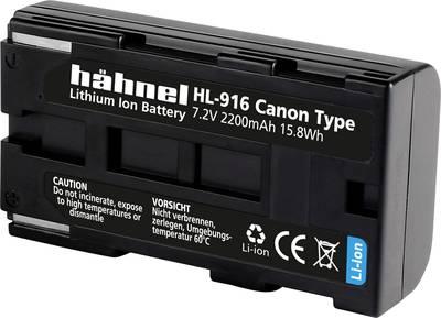 Image of Camera battery Haehnel replaces original battery BP-911, BP-914, BP-915, BP-924, BP-927,