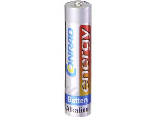 AAA batterij (potlood) Conrad energy Alkaline 1.5 V 10 stuks