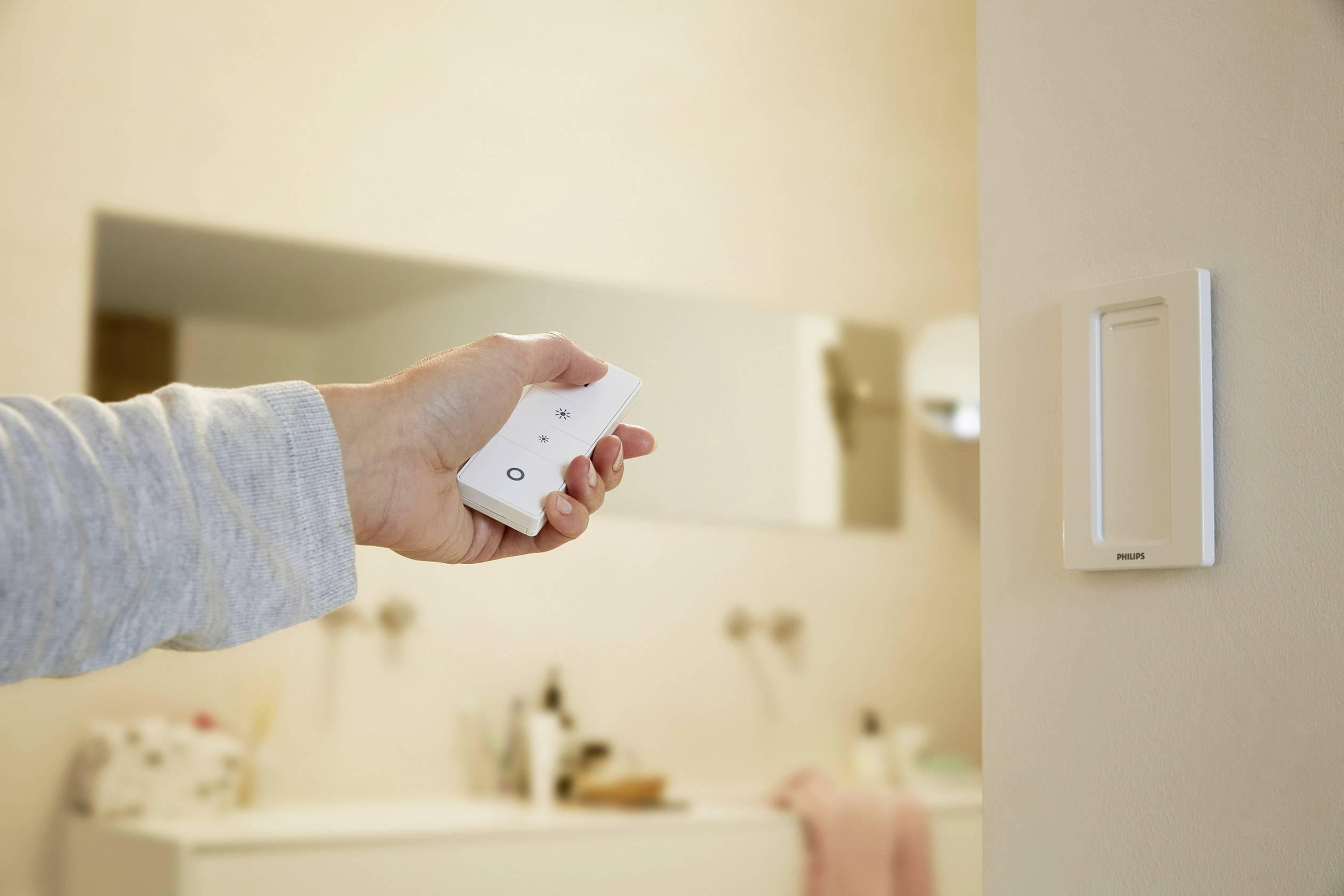 Philips Hue Badkamer : Philips lighting hue led bathroom ceiling light struana built in led