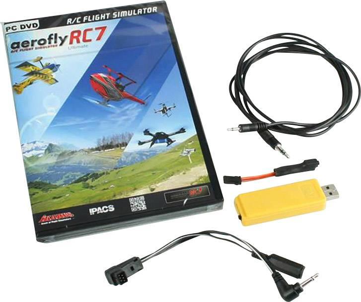 Flight simulator Ikarus aeroflyRC7 Professional Inc