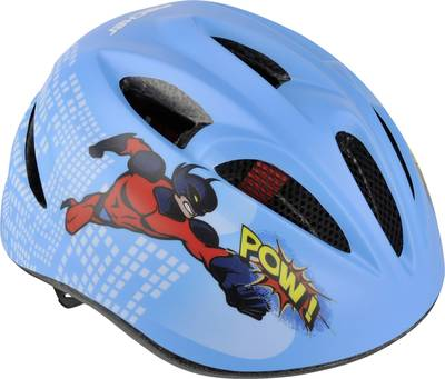 Kids bike helmet Fischer Fahrrad Kinder Comic S/M Blue Clothes s