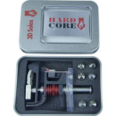 3D Solex nozzles HardCore 7 Kit Suitable for (3D printer): Ultimaker 3