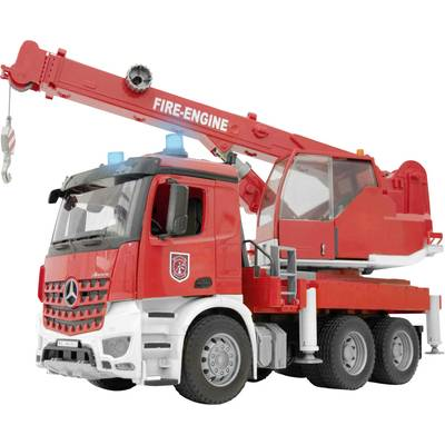 Brother MB Arocs fire-brigade crane with light and sound