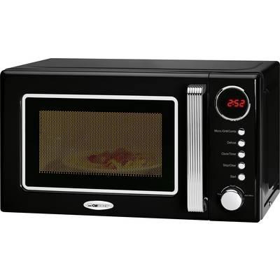 Clatronic MWG 790 schwarz Microwave 700 W Grill function