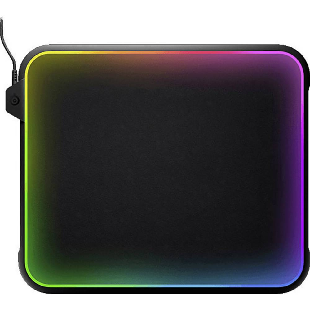 Gaming Mouse Pad Steelseries Qck Prism Backlit Black Rgb From Mousepad
