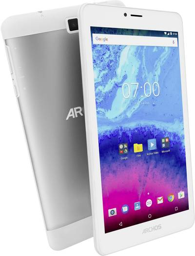 """Archos Core 70 3G Android 17.7 cm (6.95 """") 16 GB Wi-Fi, UMTS/3G Silver (metallic) 1.3 GHz Quad Core Android™ 7.0 Nougat"""