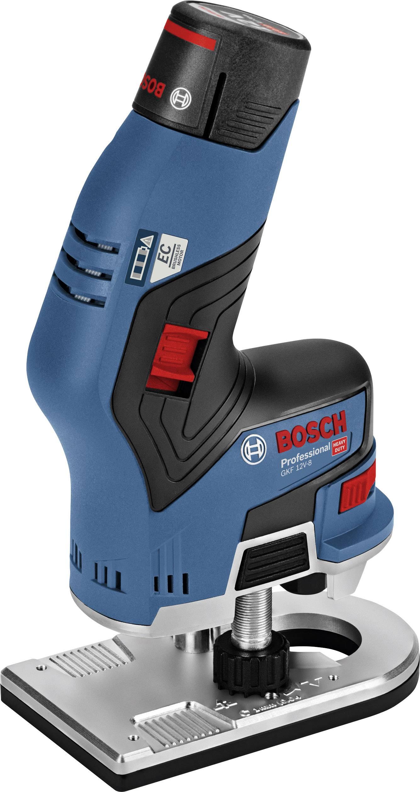 Bosch Professional Gkf 12v 8 Cordless Palm Router 06016b0000 Gkf 12v 8 Incl Spare Battery Incl Case Conrad Com