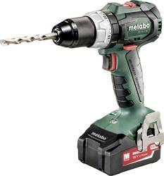 Metabo BS 18 LT BL Cordless drill 4 Ah incl  case, incl  accessories, incl   spare battery